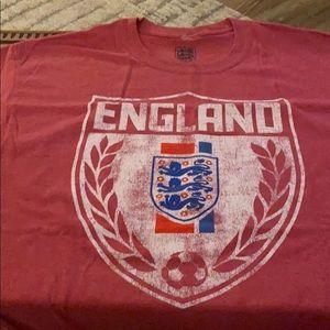 Other - England soccer football t-shirt
